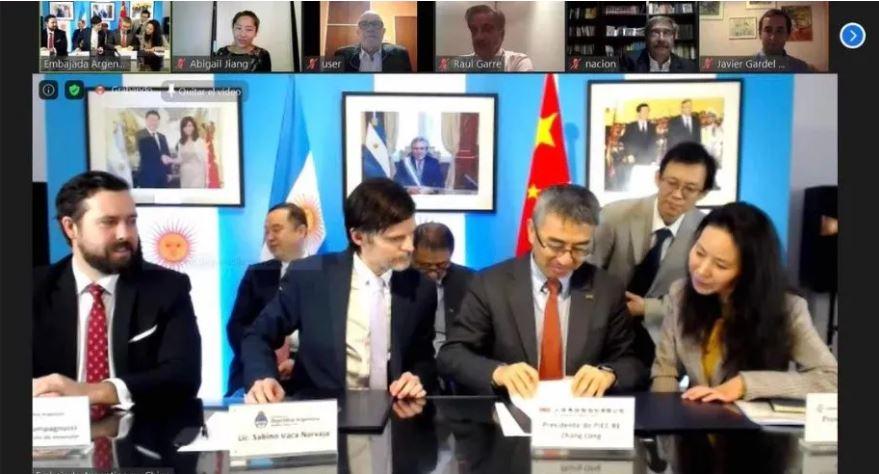 Histórico acuerdo entre el Banco Nación y la mayor reaseguradora china